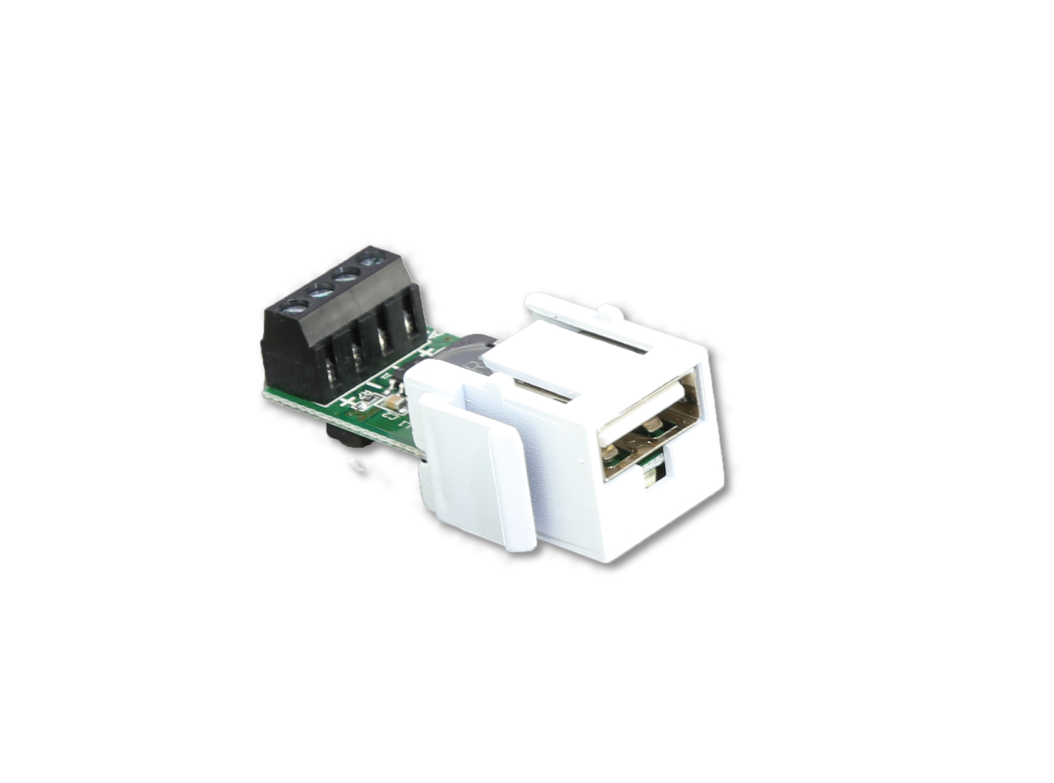 2.8 AMPs USB Keystone Charger