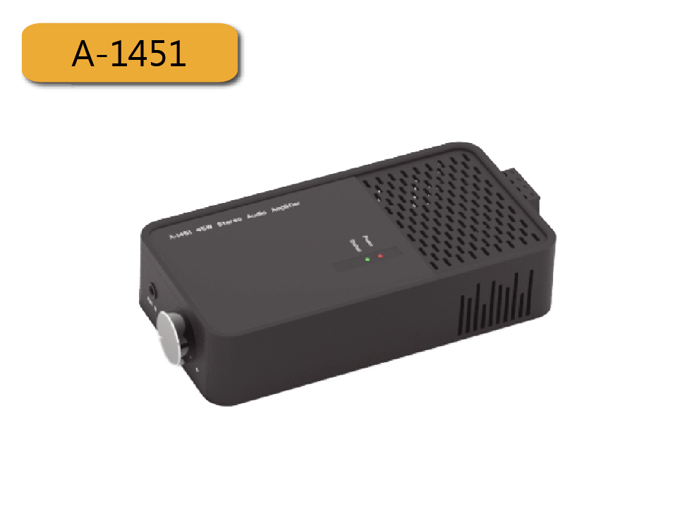 45W Stereo Audio Power Amplifier